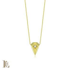 Diamond cut lovers Necklace