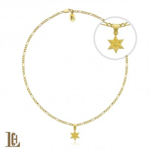 Big Hexagon star choker