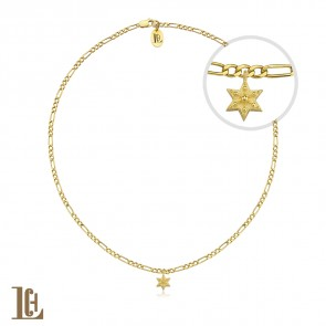 mini Hexagon star choker