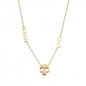 COOL & ROUGH  Skull Necklace